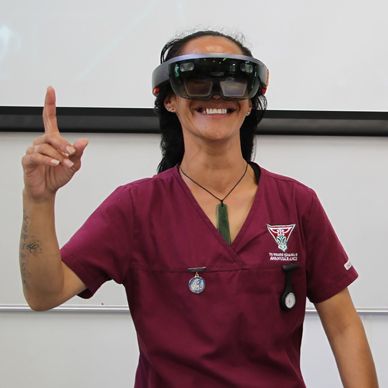 Nursing students training at indigenous tertiary institution Te Whare Wānanga o Awanuiārangi will use hologram patients to practise critical assessment and care, and virtual humans to study anatomy and physiology.