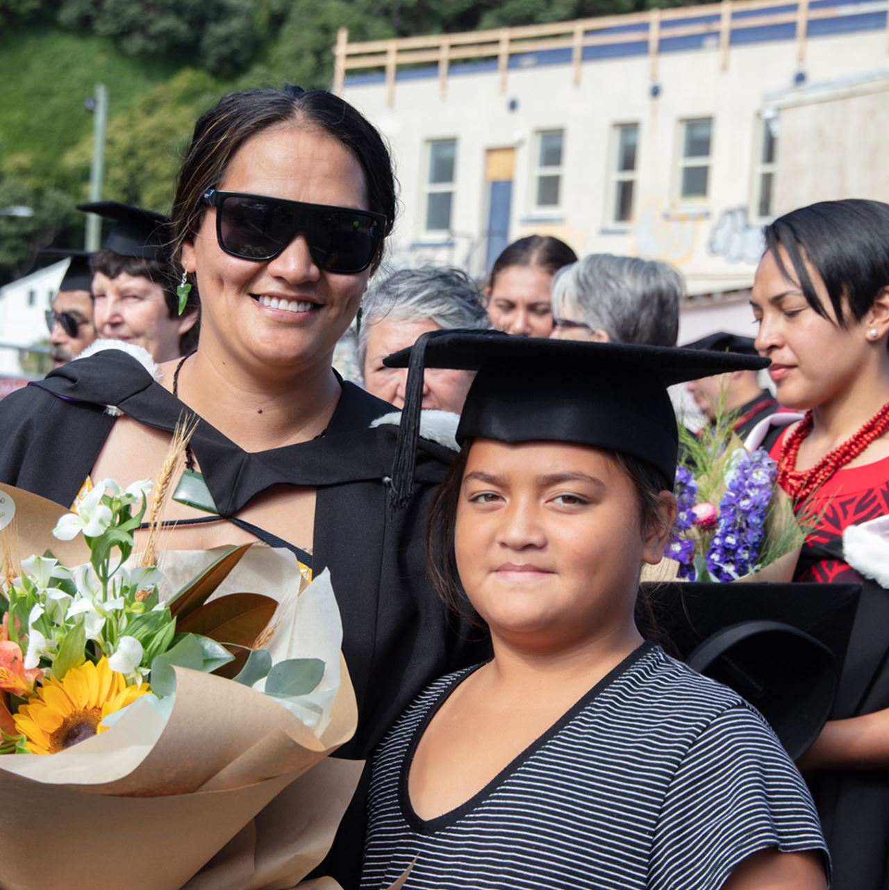 Graduation features a Hikoi procession down the main street of Whakatāne
