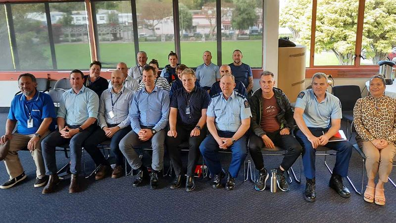 Eastern Bay of Plenty New Zealand Police sign up to learn te reo Māori